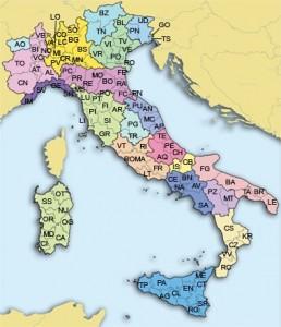 costo rca province italiane